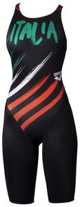 DS-ARN0040W-ITA-SS アリーナ 女性用競泳水着(【ITA】ブラック・SSサイズ) arena 【FINA承認】 ハーフスパッツ(クロスバック)20SS エックスパイソン2