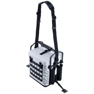 33164 第一精工 タックルキャリアー MS2725(ホワイト×ブラック) DAIICHISEIKO タックルバッグ