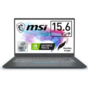 PRESTIGE15A10SC272JP MSI Prestige15 A10SC-272JP - 15.6インチ クリエイターノートPC [第10世代 インテル Core i7 / メモリ 32GB / SSD 512GB / GeForce GTX 1650]
