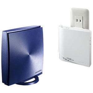 WN-DX1167GREX I/Oデータ 360コネクト搭載867Mbps(規格値)対応メッシュWi-Fiセット