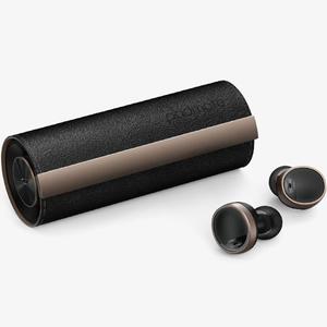 PM16550 パッドメイト 完全ワイヤレス Bluetoothイヤホン(ブラックレザー) Padmate PaMuScroll Plus