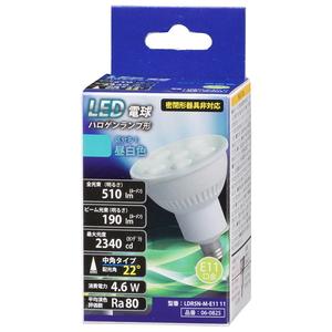 LDR5N-M-E11 11 オーム LED電球 ハロゲン電球形 OHM おすすめ LDR5NME1111 全商品オープニング価格 510lm 昼白色相当