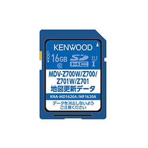 KNA-MD1620A ケンウッド 地図更新SDカード(MDV-Z701/MDV-Z700他) KENWOOD