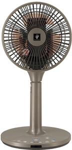 PJ-L2DS-T シャープ 【扇風機】DCモーター搭載 リビング扇(リモコン付 ブラウン系) SHARP 「プラズマクラスター7000」搭載 [PJL2DST]