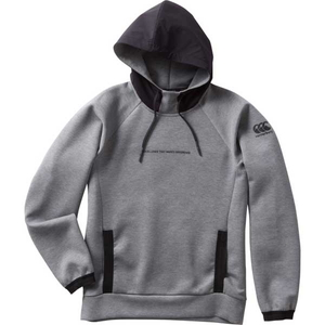 CCC-RP4002817-S カンタベリー メンズ ダフテックエアー フーディ(チャコールグレー・サイズ:S) CANTERBURY D.A.F TEC AIR HOODY