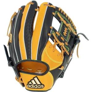ADJ-INT77-FR3635-LH アディダス 軟式野球用グラブ 内野手用 I(ブラック/ゴールドメタリック・右投用) adidas
