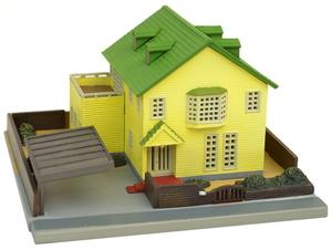 鉄道模型 トミーテック 低価格 N 現金特価 建物コレクション 015-3 現代住宅E3 輸入住宅