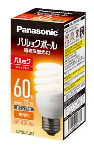 EFD15EL11EF2 購買 パナソニック 電球形蛍光ランプ D15形 Panasonic 公式サイト 電球色 パルックボール