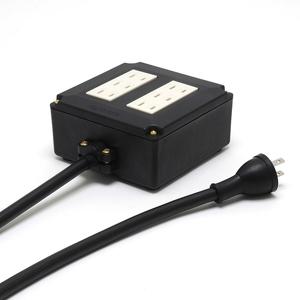OCB-1 ST2 オヤイデ 2P-6口電源タップ(ケーブル付·2.0m) OYAIDE