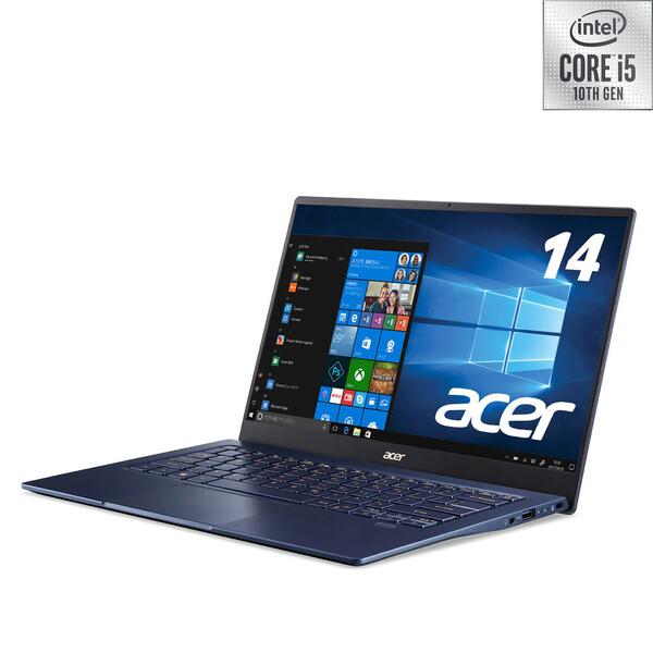 SF514-54T-F58Y/B Acer(エイサー) 14.0型ノートパソコン Acer Swift 5 チャコールブルー [Core i5/メモリ 8GB/SSD 512GB]