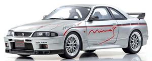 1/18 日産スカイライン GT-R (BCNR33)マインズ(シルバー) Otto Mobile Kyosho Exclusive【OTM871】 OttOmobile
