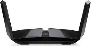 RAX200-100JPS NETGEAR 11ax(Wi-Fi6)対応 Nighthawkトライバンド AX12 12ストリーム Wi-Fiルーター 親機 (RAX200)
