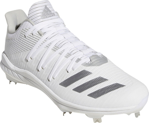 ADJ-G27658-280 アディダス 野球用埋め込み金具スパイク(フットウェアホワイト/シルバーメタリック/グレーツー・28.0cm) adidas Afterburner 6