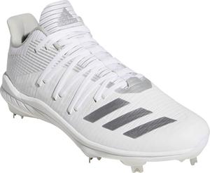ADJ-G27658-275 アディダス 野球用埋め込み金具スパイク(フットウェアホワイト/シルバーメタリック/グレーツー・27.5cm) adidas Afterburner 6