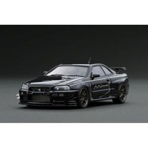 1/43 Nissan Skyline GT-R Mine's (R34) Black【IG1815】 ignitionモデル