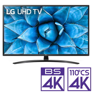 (標準設置料込_Aエリアのみ)49UN7400PJA LGエレクトロニクス 49V型地上・BS・110度CSデジタル4Kチューナー内蔵 LED液晶テレビ (別売USB HDD録画対応)