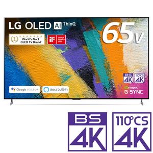 (標準設置料込_Aエリアのみ)OLED65GXPJA LGエレクトロニクス 65V型 有機ELパネル 地上・BS・110度CSデジタル4Kチューナー内蔵テレビ (別売USB HDD録画対応)