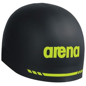 メーカー公式 DS-ARN9400-BLK-L アリーナ スイムキャップ 期間限定今なら送料無料 Fina承認 ブラック サイズ:L AQUAFORCE arena シリコンキャップ 3D SOFT