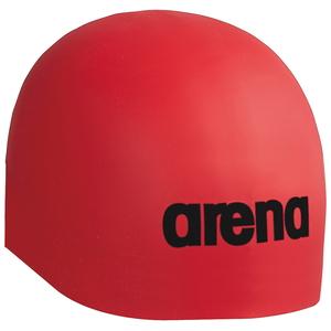 DS-ARN9900-RED-L アリーナ 期間限定送料無料 スイムキャップ Fina承認 レッド 出群 サイズ:L シリコンキャップ AQUAFORCE arena 3D SOFT