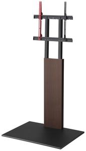 D05000005 ナカムラ ~60V型対応 壁寄せテレビスタンド(ウォールナット) EQUALS WALL INTERIOR TVSTAND V2ハイタイプ