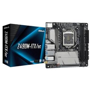Z490M-ITX/AC ASRock Mini-ITX対応マザーボードASRock Z490M-ITX/AC