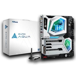 Z490 AQUA ASRock ATX対応マザーボードASRock Z490 AQUA
