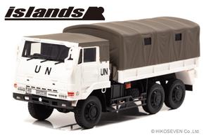 1/43 陸上自衛隊 3・1/2t トラック (73式大型トラック SKW477 国連平和維持活動仕様)【IS430008】 islands