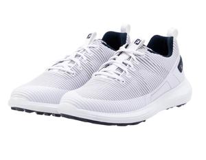56250W275 フットジョイ メンズ・スパイクレス・ゴルフシューズ(ホワイト・27.5cm) FootJoy FJフレックス XP
