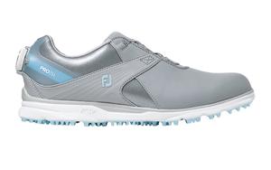 98128W245 フットジョイ レディース・スパイクレス・ゴルフシューズ(グレー×ブルー・サイズ:24.5cm) footjoy ウィメンズ FJ PRO/SL ボア