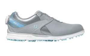 98128W25 フットジョイ レディース・スパイクレス・ゴルフシューズ(グレー×ブルー・サイズ:25.0cm) footjoy ウィメンズ FJ PRO/SL ボア