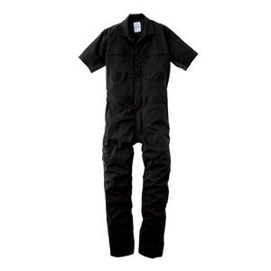 GE-445-05-3L エスケープロダクト ダブルメッシュ・ストレッチ半袖ツナギ ブラック 3Lサイズ SK-PRODUCT