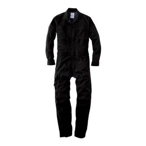 GE-447-05-5L エスケープロダクト ダブルメッシュ・ストレッチ長袖ツナギ ブラック 5Lサイズ SK-PRODUCT