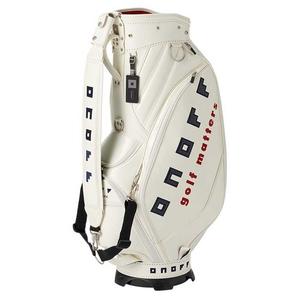 OB0920-01 オノフ キャディバッグ (ホワイト・9型・47インチクラブ対応) ONOFF Caddie Bag OB0920