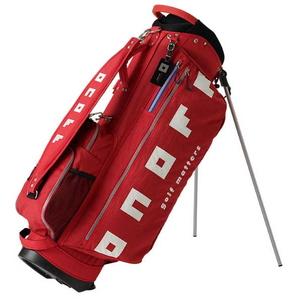 OB0320-03 オノフ キャディバッグ (レッド・9型・47インチクラブ対応) ONOFF Caddie Bag OB0320