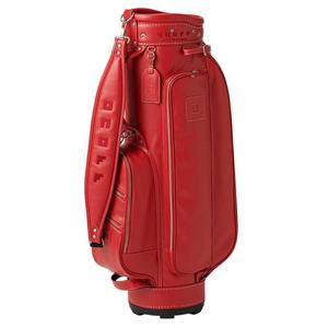 OB1020-03 オノフ キャディバッグ (レッド・8.5型・47インチクラブ対応) ONOFF Caddie Bag OB1020