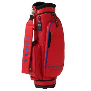 OB3520-03 オノフ キャディバッグ (レッド・8.5型・47インチクラブ対応) ONOFF Caddie Bag OB3520