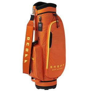 OB3520-06 オノフ キャディバッグ (オレンジ・8.5型・47インチクラブ対応) ONOFF Caddie Bag OB3520