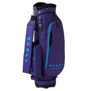 OB3520-34 オノフ キャディバッグ (ブルー・8.5型・47インチクラブ対応) ONOFF Caddie Bag OB3520