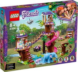 レゴ(R)フレンズ フレンズのジャングルレスキュー基地【41424】 レゴジャパン