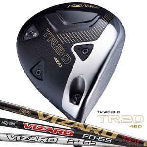 TR20-460-10.5-TR50-R 本間ゴルフ ツアーワールド TR20 460 ドライバー VIZARD TR20-50 シャフト 10.5°フレックス:R