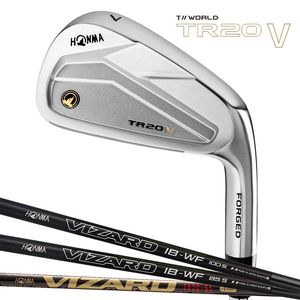 TR20V-5-10-IBWF-S 本間ゴルフ ツアーワールド TR20-V アイアン 6本セット(#5~#10) VIZARD IB-WFシャフト #5~#10 フレックス:S