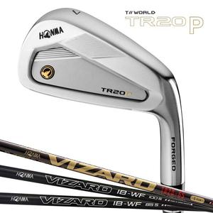 TR20P-6-11-TR65-R 本間ゴルフ ツアーワールド TR20-P アイアン 6本セット(#6~#11) VIZARD TR20-65シャフト #6~#11 フレックス:R