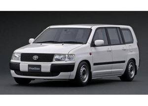 1/18 Toyota Probox GL (NCP51V) White【IG1642】 ignitionモデル