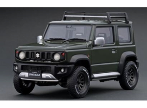 1/18 SUZUKI Jimny SIERRA JC (JB74W) Jungle Green Lift Up【IG1704】 ignitionモデル