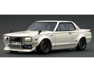 1/18 Nissan Skyline 2000 GT-R (KPGC10) White【IG2019】 ignitionモデル