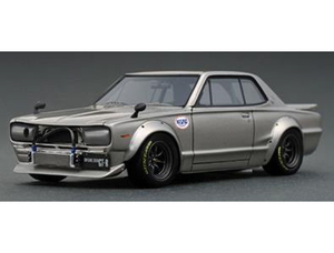 1/18 Nissan Skyline 2000 GT-R (KPGC10) Silver【IG2020】 ignitionモデル