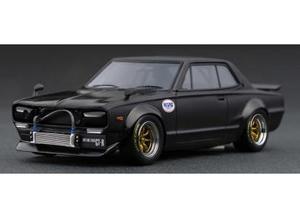 1/18 Nissan Skyline 2000 GT-R (KPGC10) Matte Black【IG2021】 ignitionモデル