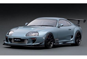 1/12 Toyota Supra (JZA80) RZ Matte Gray【IG2106】 ignitionモデル