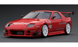 1/43 Mazda RX-7 (FC3S) RE Amemiya Red【IG2137】 ignitionモデル