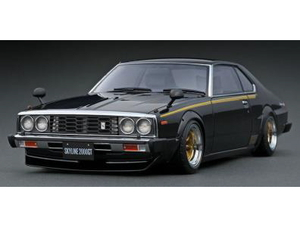 1/18 Nissan Skyline 2000 GT-ES (C210) Black【IG2164】 ignitionモデル